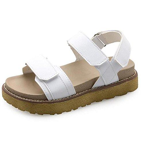 mujer con zapatos planos KUKI planos zapatos para antideslizantes Sandalias 2 mujeres de ZYq0EqT