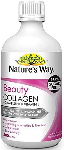 Nature's Way Beauty Collagen Liquid 500ml product of Australia