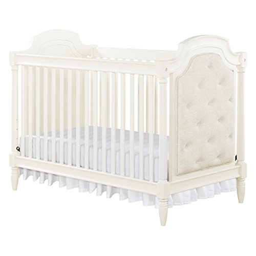 Amazon Baby Relax Monbebe Corrine 2 In 1 Convertible Crib White Kitchen Dining