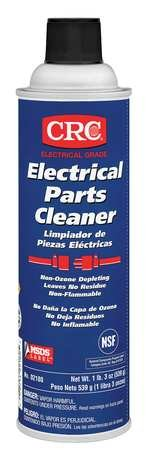 CRC Electrical Parts Liquid Cleaner, 19 oz Aerosol Can