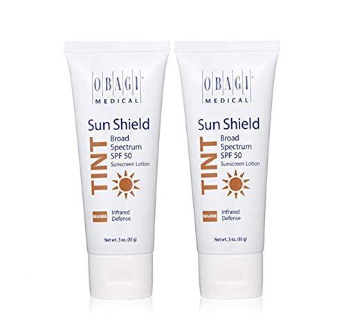 2 Packs Sun Shield Tint Broad Spectrum SPF 50 Sunscreen 3 oz Each