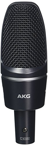 rmance Large-Diaphragm Condenser Microphone (Akg Large Diaphragm Condenser Microphone)