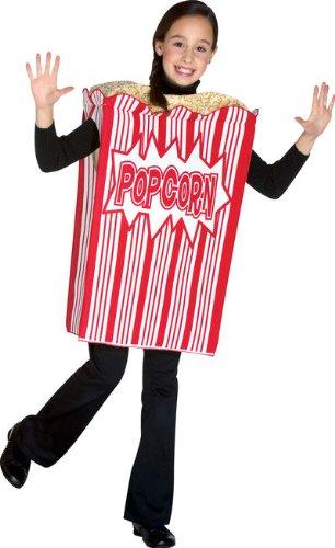 Movie Night Popcorn Child Costume (As (Popcorn Fancy Dress Costume)