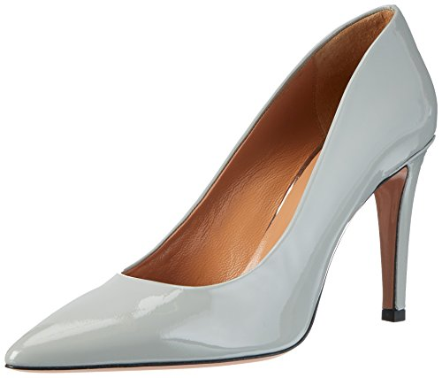 Zapatos Mujer taupe Oxitaly De 200 Sissi Gris Tacón qw7zEF
