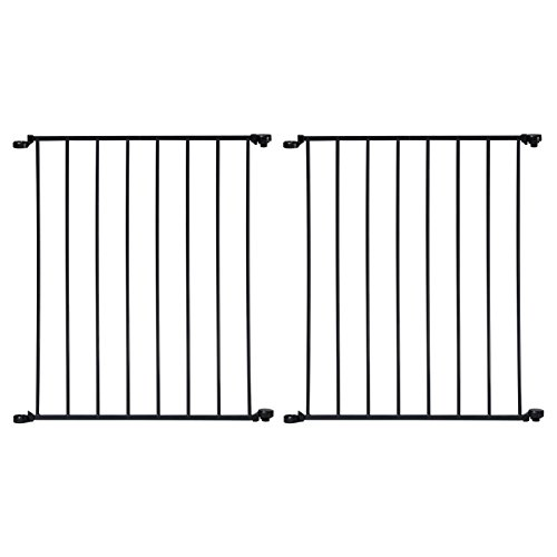 """UPC 713331132844, KidCo Section, Black, 24"""" Extension - 2 Count"""