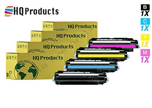 (HQ Products Remanufactured Replacement for Canon CRG-111 1660B001AA Black 1659B001AA Cyan 1658B001AA Magenta 1657B001AA Yellow Toner Cartridge Set for imageCLASS MF9150C MF9170C LBP 5360)