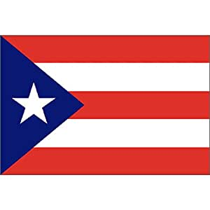 Findingking Puerto Rico Flag 3Ft X 5Ft