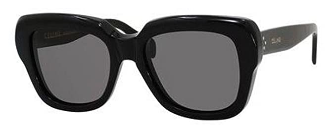 7e2c7763f52 Image Unavailable. Image not available for. Color  Celine 41022 S Sunglasses -0807 Black (BN Dark Gray Lens)-54mm