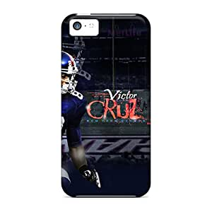 LavernaCooney Iphone 5c Shock-Absorbing Hard Cell-phone Cases Unique Design High-definition New York Giants Image [WzE5786mzOL]