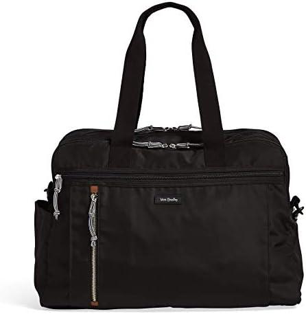 Vera Bradley Lighten Up Weekender Travel Bag, Black
