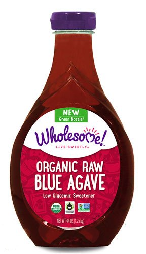Wholesome Sweeteners Organic Raw Blue Agave -- 44 fl oz - 2 pc
