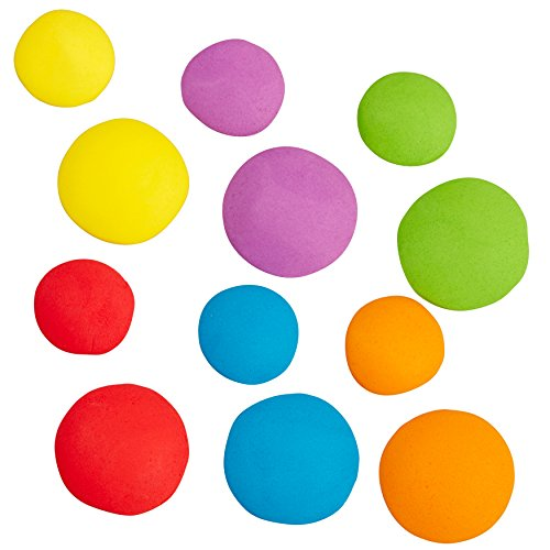 Wilton Bright Dots Icing Cake Decorations, 24-Count Edible Cake Decorations -