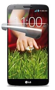 Cellular Line SPLGG2 - Protector de pantalla para LG Optimus G2 (2 unidades, incluye gamuza limpiadora), transparente