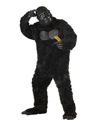 California Costumes Men's Adult-Gorilla, Black, Standard Costume -
