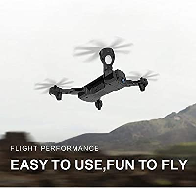 Icocol SG900 Foldable Quadcopter, 2.4GHz Full 1080 HD Camera WiFi FPV GPS Fixed Point Drone,Headless Mode and One Key Return Home, Color Black by Icocol