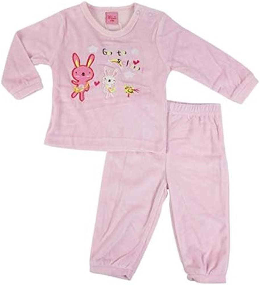 Pyjama lapin - bébé fille - rose clair: Amazon.es: Ropa y ...