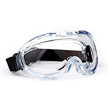 TR Industrial Anti-Fog Approved Wide-Vision Lab Safety Goggle, ANSI Z87.1 Approved