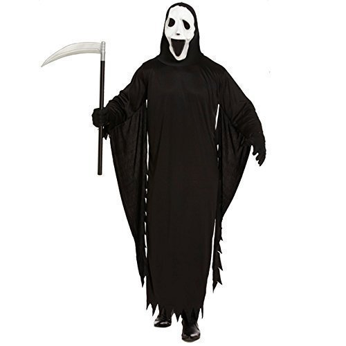 ADULT SCREAM SCARY MOVIE DEMON GHOST HALLOWEEN FANCY DRESS COSTUME PARTY OUTFIT by (Demon Outfits Halloween)