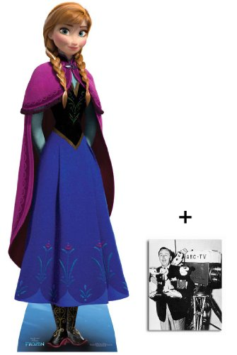 Fan Pack - Anna from Frozen Disney Mini Cardboard Cutout/Standee Includes 8x10 (20x25cm) Photo -
