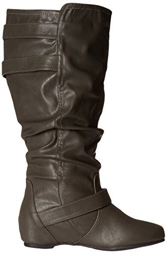 Grey Womens Boot Wide Cammie Co Calf Slouch Xwc Brinley Extra XvnPYqAx