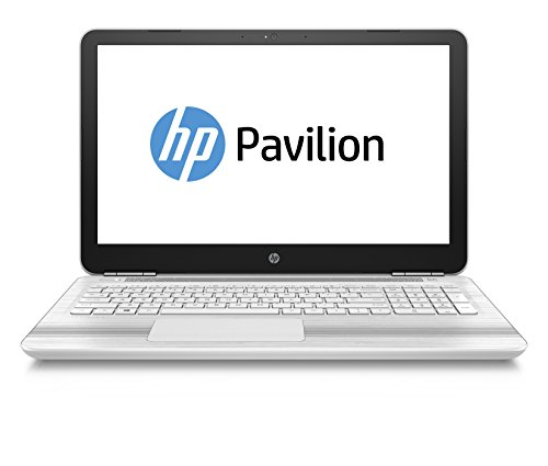 HP Pavilion 15-au027ng (P3U15EA) 39,6 cm (15,6 ZollFull-HD) Notebook (8GB DDR4 RAM Arbeitspeicher, 1TB HDD Festplatte, Intel HD Grafikkarte, Windows 10 Home 64 Betriebssystem) weiß