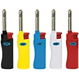 5 PC MK Windproof Refillable Candle Lighter