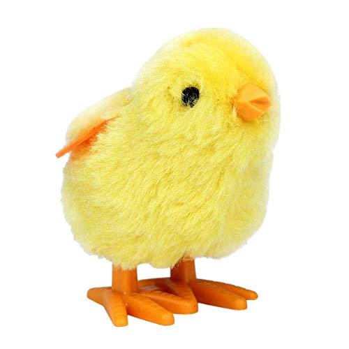 Selou Coniglio di Pulcino Giocattolo New Baby Child Toys Luppolo Wind Up Easter Chick e Bunny (A)