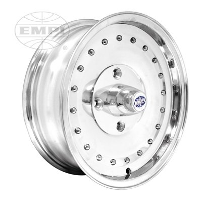 PREMIUM SMOOTHIE WHEEL, Polished, 5.5'' Wide, 4 on 130mm VW