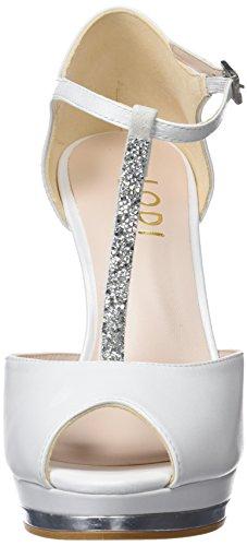 Pauli Tacon galaxia Mujer Vertical Para Tira Zapatos Lodi Avorio Avorio Beige Y Con tdqxZH