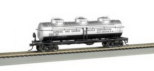 Williams by Bachmann Carbide and Carbon Chemicals O Scale 3Dome Tank Car