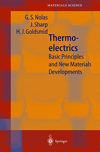 Thermoelectrics  Basic Principles And New Materials Developments