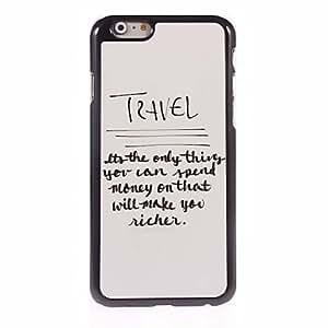 JOE Unique Design Aluminum Hard Case for iPhone 6 Plus
