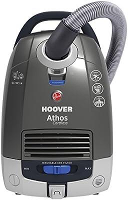 Hoover ATC18LI - Aspiradora sin Cable, 5 litros, Titanio/Azul: Amazon.es: Hogar