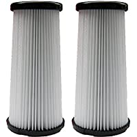 (2) Kenmore DCF-5 Pleated HEPA Tapered Filter w/activated Charcoal, Upright, Bagless Quck Clean Vacuum Cleaners, 618683, 02080011000, 02039000000