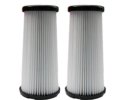 (2) Kenmore DCF-5 Pleated HEPA Tapered Filter w/activated Charcoal, Upright, Bagless Quck Clean Vacuum Cleaners, 618683, 02080011000, 02039000000 by Kenmore