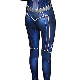 - 41Q5KchDzOL - Riekinc Spandex Bodysuit Womens Zentai Suits Cosplay Costume Audlt/Kids