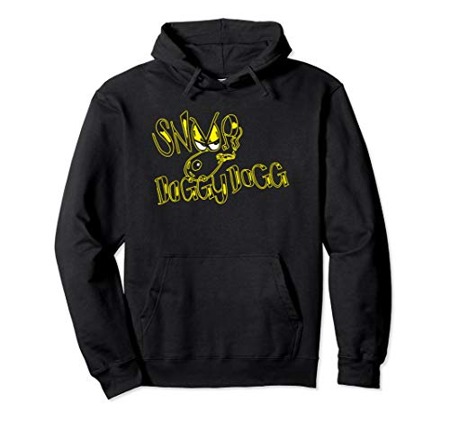 Death Row Records Snoop Dogg Doggy Style Logo Hoodie (Snoop Dogg Clothing Line Rich & Famous)