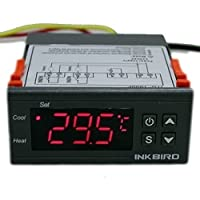 Inkbird ITC-1000 Heat and Cool Temperature Controller for Home Brewing Aquarium Hatching Greenhouse (ITC-1000 12V)