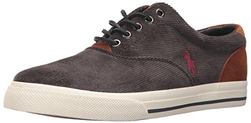 Polo Ralph Lauren Mens Vaughn Sneaker Carbone Lace-up