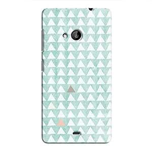 Cover It Up - Odd Hills Blue Lumia 535 Hard Case
