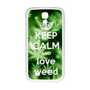 Fresh green design Cell Phone Case for Samsung Galaxy S4 by runtopwell