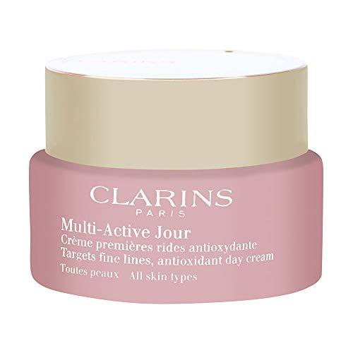 Clarins Multi Active Jour Day Cream All Skin Types - 1.6 Ounces Clarins Anti Aging Cream