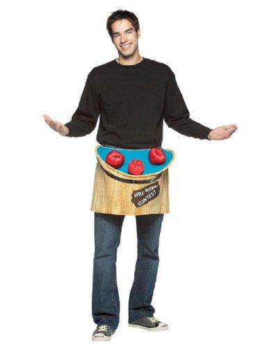 Bobbing For Apples Costumes (Rasta Imposta Get Waisted Bobbing for Apples, Multi, One Size)