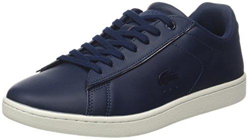 Lacoste Damen Carnaby Evo 417 1 Chaussures De Sport Spw Blau (nvy)