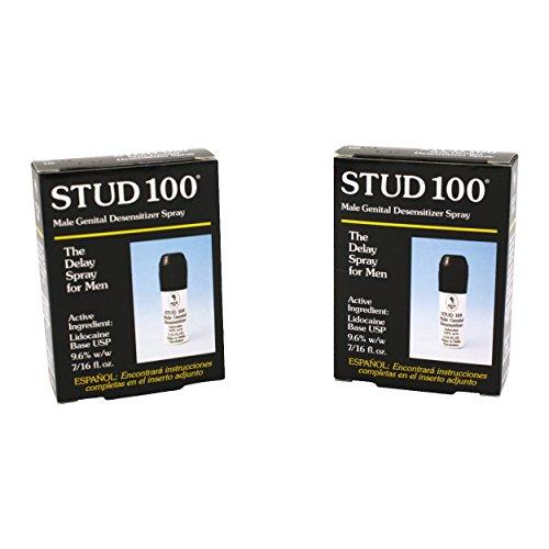 Stud 100 Male Desensitizer Spray 7/16 fl oz - 2 Pack
