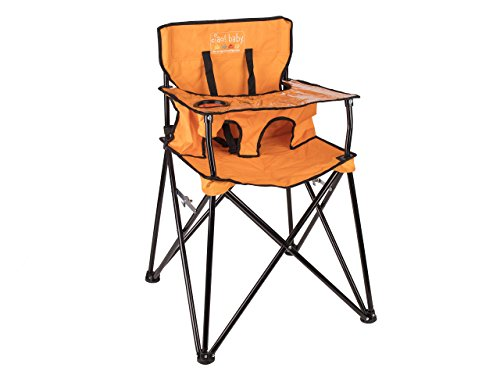 ciao baby Portable Highchair Orange