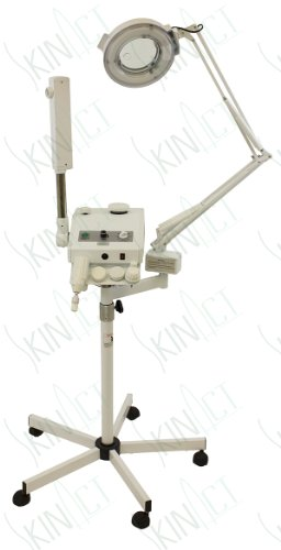 Ozone Steamer, 5 Diopter Magnifying Lamp and Electronic Brush By Skin Act by SkinAct