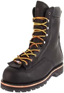 """Wolverine Men's Northman 8"""" Insulate Work Boot,Black,7 XW US"""