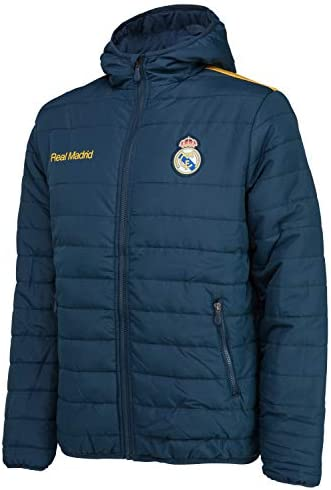 Real Madrid Plumífero Colección Oficial - Hombre: Amazon.es ...