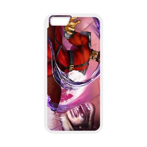 Street Fighter V 18 coque iPhone 6 Plus 5.5 Inch cellulaire cas coque de téléphone cas blanche couverture de téléphone portable EEECBCAAN02928